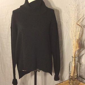Anthropologie turtleneck sweater.